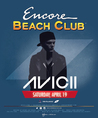 Avicii at Encore Beach Club Las Vegas