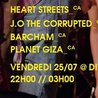 MEG 2014 // HEART STREETS / J.O THE CORRUPTED / BARCHAM / PLANET GIZA @ DIVAN ORANGE / +18