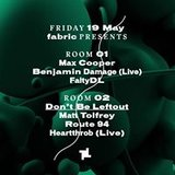 19.5 fabric Presents: Max Cooper, Benjamin Damage, Matt Tolfrey