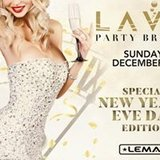 Lavo Party Brunch New Year's Eve Day