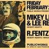 Mikey Lion & Lee Reynolds (Desert Hearts) at Public Works