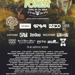 Electric Forest 2014 Lineup